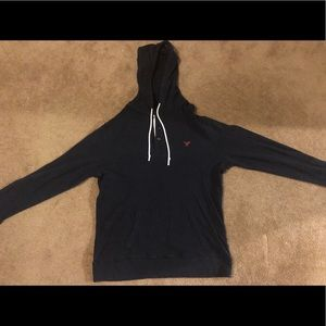 American Eagle Hoodie with buttons